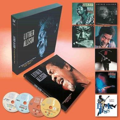 Luther Allison A LEGEND NEVER DIES ESSENTIAL RECORDINGS 1976-1997 Vinyl Record Box Set