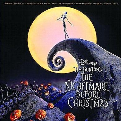 NIGHTMARE BEFORE CHRISTMAS / Original Soundtrack Vinyl Record