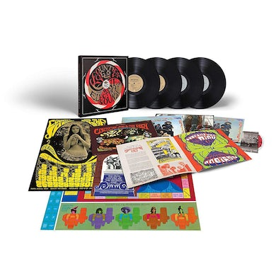 Country Joe & The Fish WAVE OF ELECTRICAL SOUND Vinyl Record Box Set