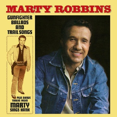 Marty Robbins GUNFIGHTER BALLADS & TRAIL SONGS Vinyl Record
