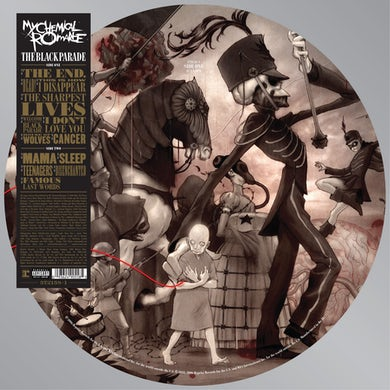 My Chemical Romance BLACK PARADE PICTURE DISC Vinyl Record