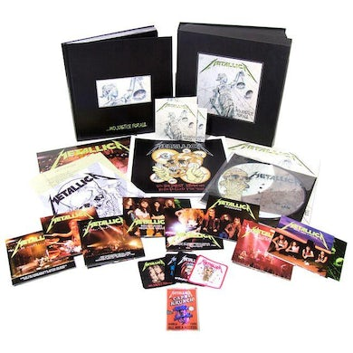 Metallica JUSTICE FOR ALL Limited Edition Vinyl Box Set