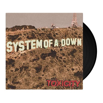 System Of A Down TOXICITY Vinyl Record