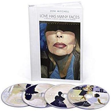 Joni Mitchell LOVE HAS MANY FACES: A QUARTET A BALLET WAITING Vinyl Record Box Set