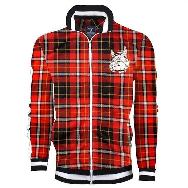 Mighty Mighty Bosstones Bulldog Red Plaid Zip Jacket