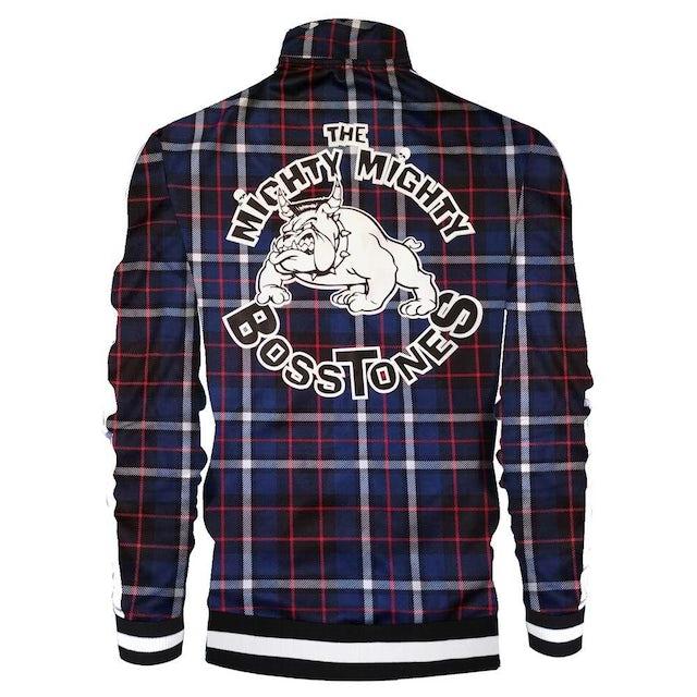 Mighty Mighty Bosstones Bulldog Navy Plaid Zip Jacket
