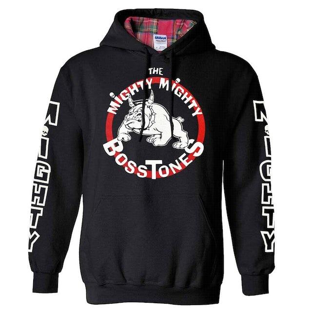 Mighty Mighty Bosstones Plaid Hood Bulldog Pullover Hoodie