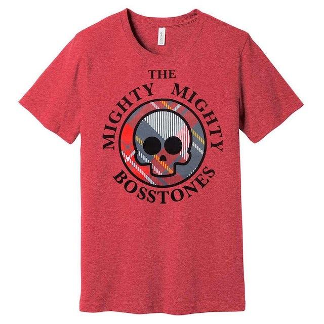 Mighty Mighty Bosstones Plaid Skull Ladies T-Shirt