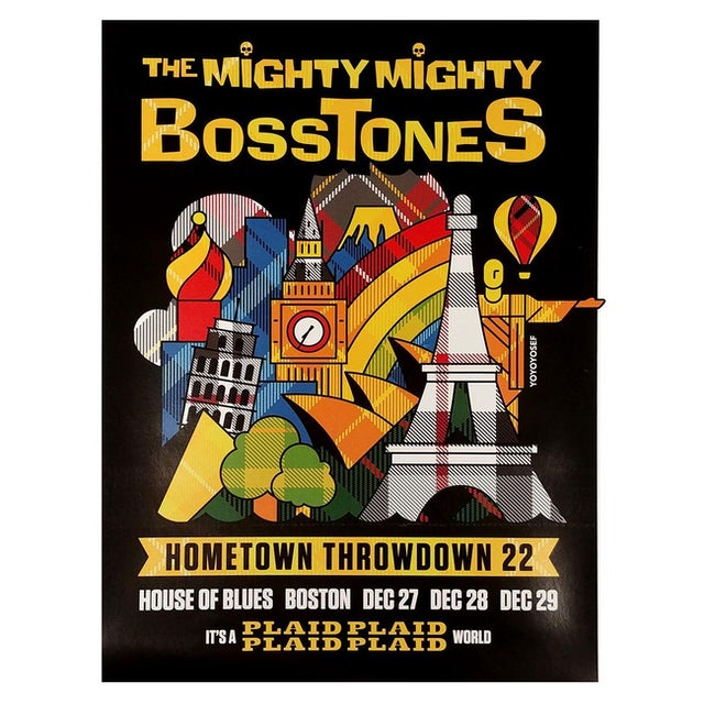 Mighty Mighty Bosstones Hometown Throwdown 22 Poster