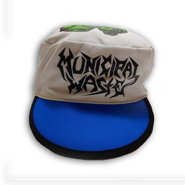Municipal Waste Logo Monster Painters Cap