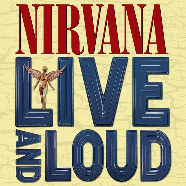 Nirvana Live and Loud Colored 2XLP