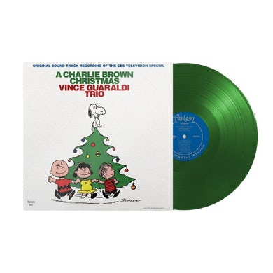 Vince Guaraldi Trio - A Charlie Brown Christmas(Green LP) (Vinyl)