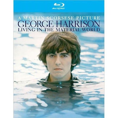 George Harrison Living in the Material World Blu Ray
