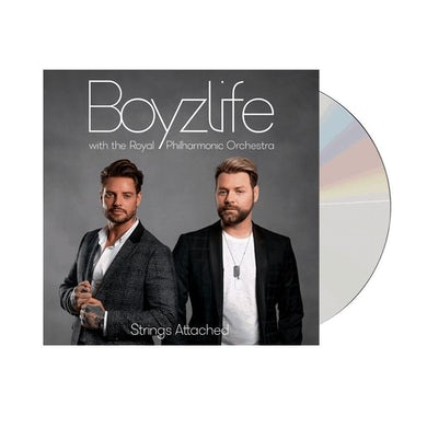 Boyzlife Strings Attached - With The Royal Philharmonic Orchestra (Signed) CD