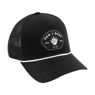 Dan + Shay Black Patch Hat