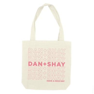 Dan + Shay Have a Nice Day Tote Bag