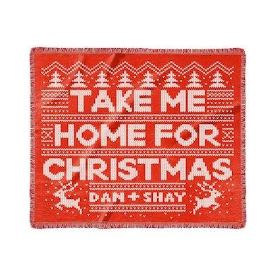 Dan + Shay Take Me Home For Christmas Blanket