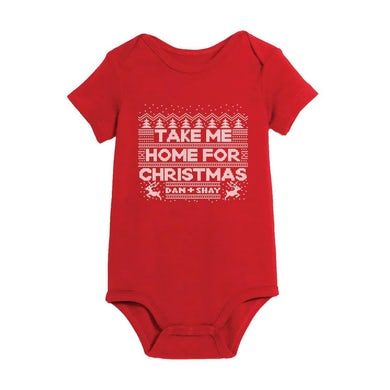 Dan + Shay Take Me Home For Christmas Onesie