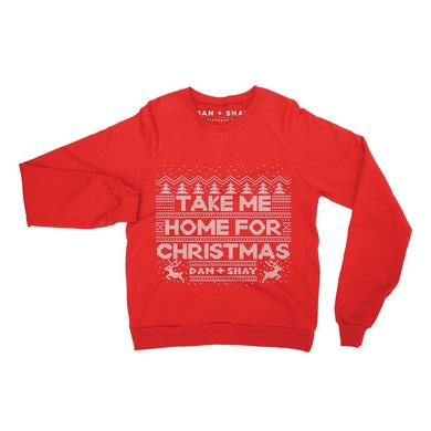 Take Me Home For Christmas Crewneck