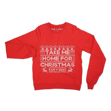 Dan + Shay Take Me Home For Christmas Crewneck