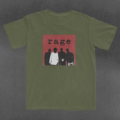 Rage Against The Machine Silhouette Box T-Shirt