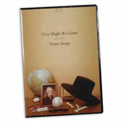 They Might Be Giants Venue Songs CD/DVD Set