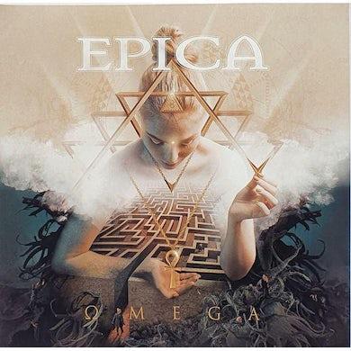 Epica Omega (Blue/Green Swirl Vinyl) Vinyl Record