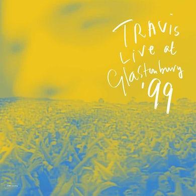 Travis Live at Glastonbury, '99 (2 LP) Vinyl Record
