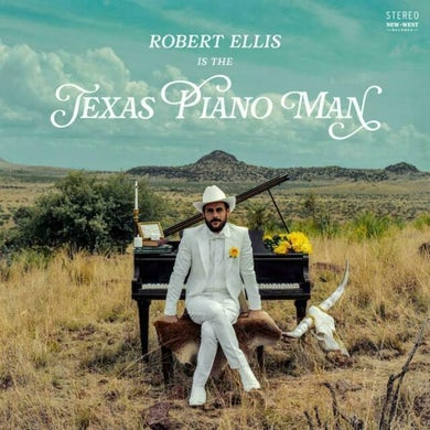Robert Ellis Texas Piano Man Vinyl Record