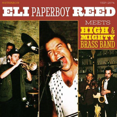 Eli Paperboy Reed Meets High & Mighty Brass Band Vinyl Record