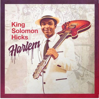 King Solomon Hicks Harlem (Red Vinyl) Vinyl Record