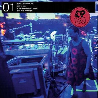 LP ON LP 01 (RUBY WAVES 7/14/19) Vinyl Record
