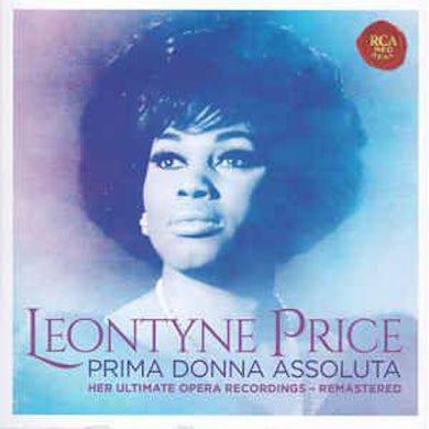Leontyne Price  Leontyne Price: Prima Donna Assoluta- Her Ultimate Opera Recordings CD