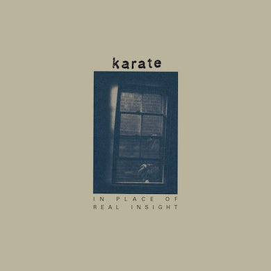 Karate IN PLACE OF REAL INSIGHT Vinyl Record