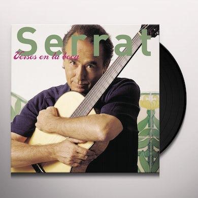 Joan Manuel Serrat VERSOS EN LA BOCA Vinyl Record