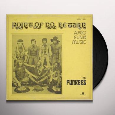 POINT OF NO RETURN - AFRO FUNK MUSIC (NIGERIAN) Vinyl Record