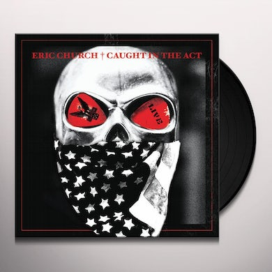 Eric Church CAUGHT IN THE ACT: LIVE Vinyl Record