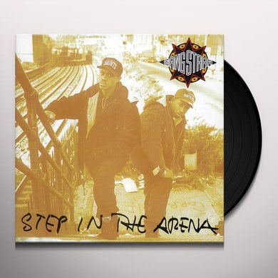 Gang Starr STEP IN THE ARENA Vinyl Record