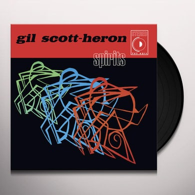 Gil Scott-Heron SPIRITS Vinyl Record
