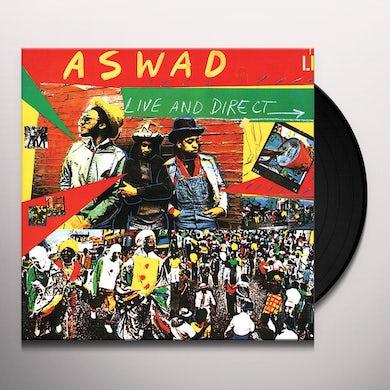 Aswad LIVE & DIRECT Vinyl Record