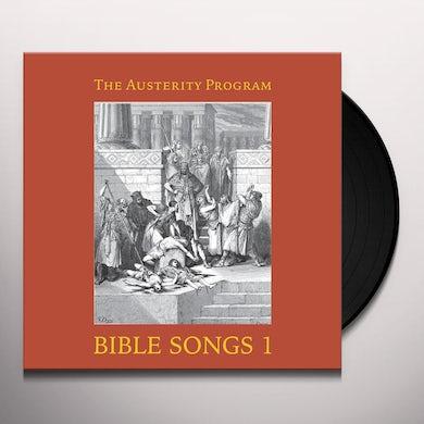 Austerity Program BIBLE SONGS 1 Vinyl Record