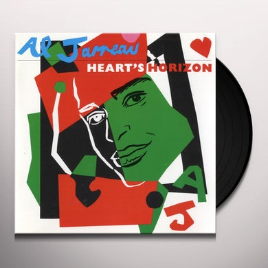 Al Jarreau HEART'S HORIZON Vinyl Record
