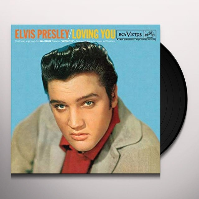 Elvis Presley LOVING YOU Vinyl Record