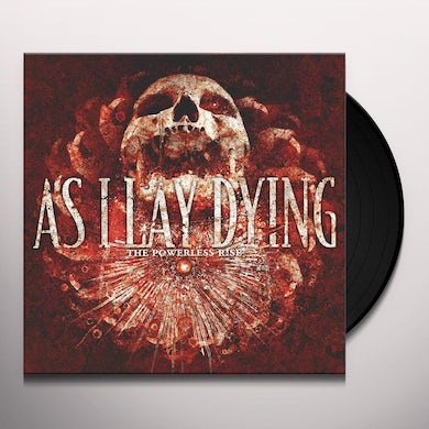As I Lay Dying POWERLESS RISE Vinyl Record