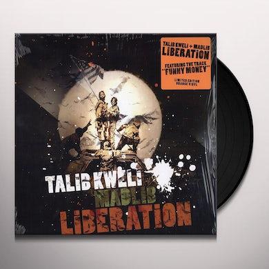 Talib Kweli & Madlib LIBERATION (ORANGE VINYL) Vinyl Record