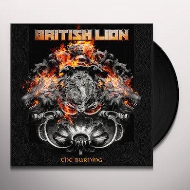 British Lion THE BURNING Vinyl Record