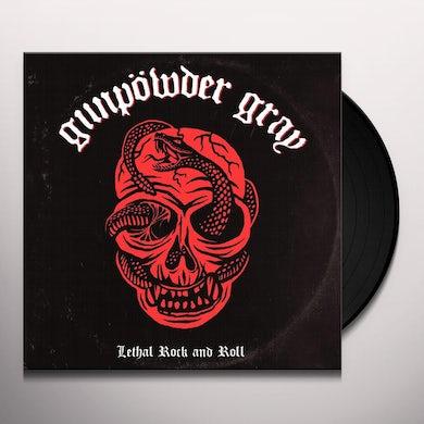 Gunpowder Gray LETHAL ROCK AND ROLL Vinyl Record