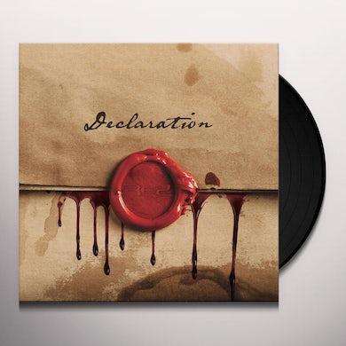 Red DECLARATION Vinyl Record