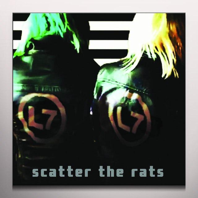 L7 SCATTER THE RATS Vinyl Record