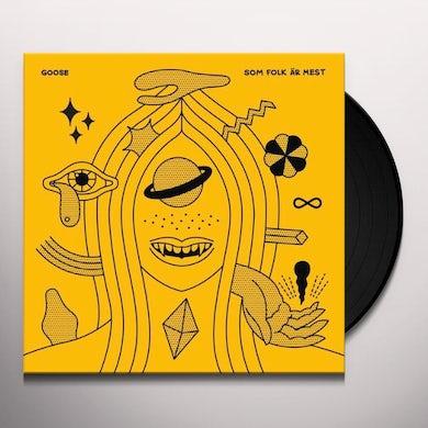 Goose SOM FOLK AR MEST Vinyl Record